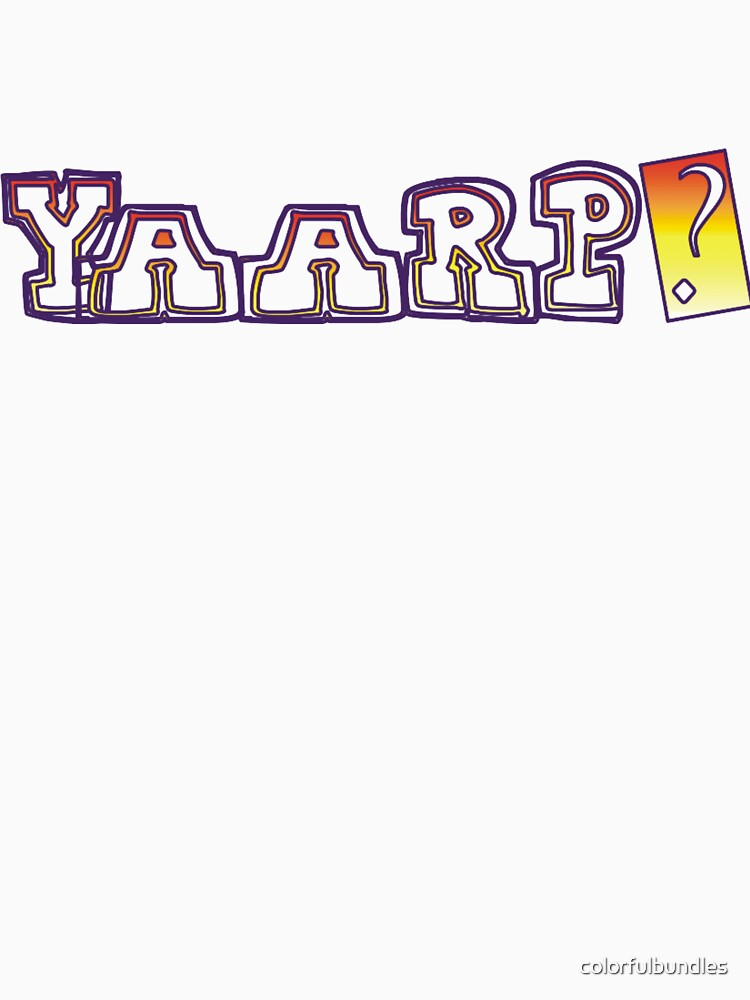 Yaarp? by colorfulbundles