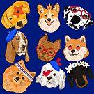 Pawesome Pups by fluffymafi