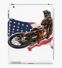 Motocross USA iPad-Hülle & Skin