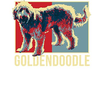 GoldenDoodle Dog Shirt - Hipster Style For Dog Lover by 6thave