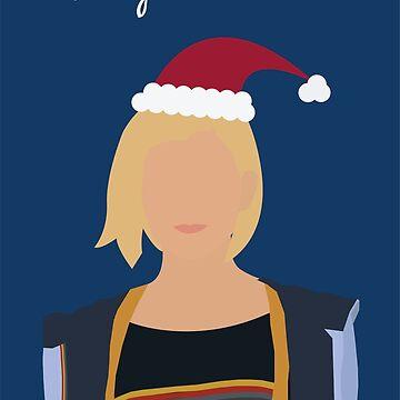«13ème carte de joyeux Noël du docteur» par agcdesign