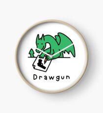 Drawgun Clock
