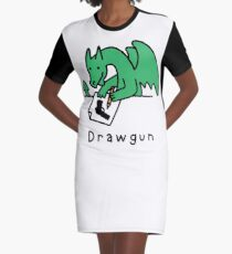 Drawgun Graphic T-Shirt Dress