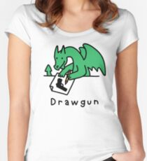Drawgun Fitted Scoop T-Shirt