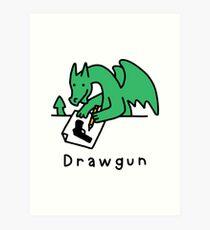 Drawgun Art Print