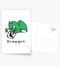Drawgun Postcards