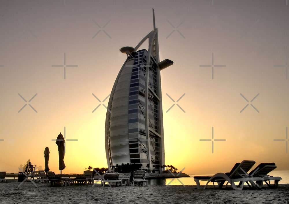 The Burj Al Arab by KLiu
