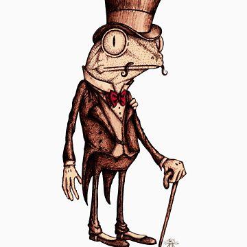 'Pretentious Frog' by Jodeetaylah
