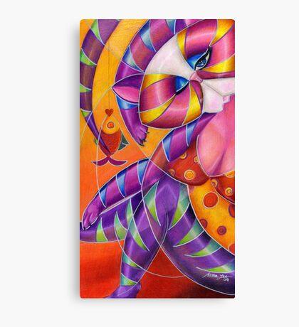 Kitty A. Lure Canvas Print