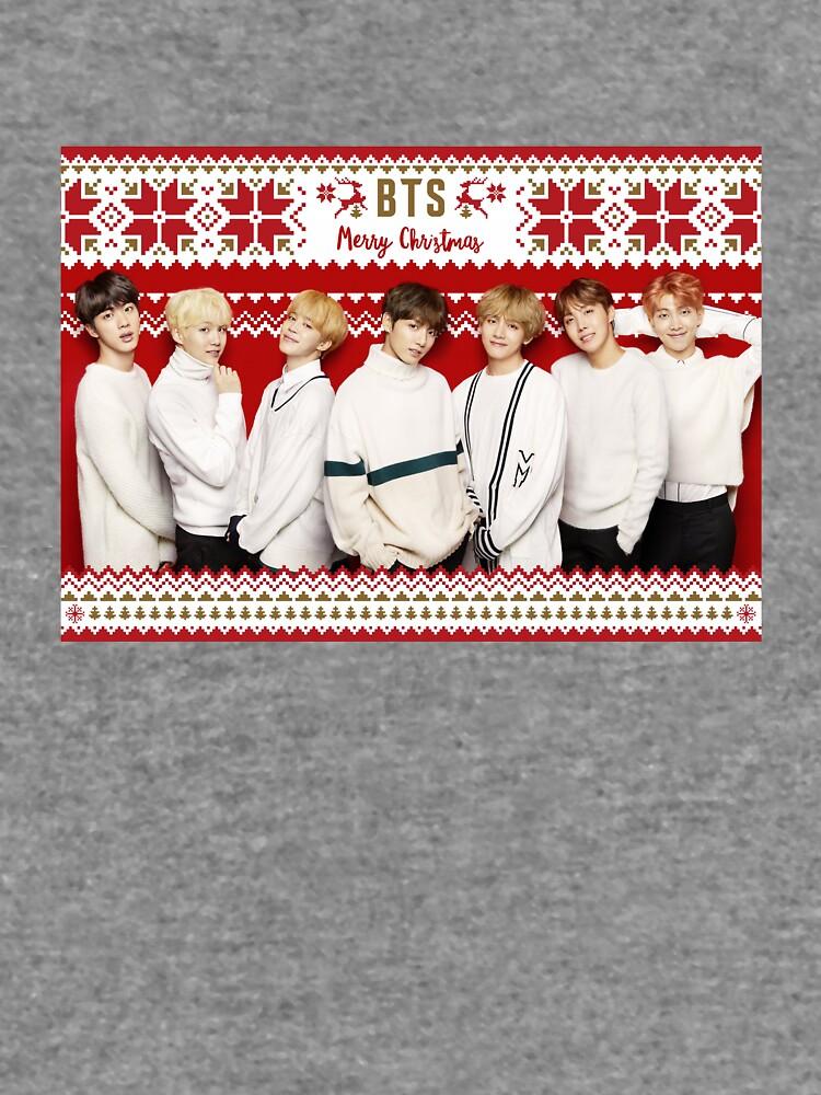 BTS Frohe Weihnachten [Klicken Sie hier, um weitere Artikel mit diesem Motiv zu sehen] von ThisFire
