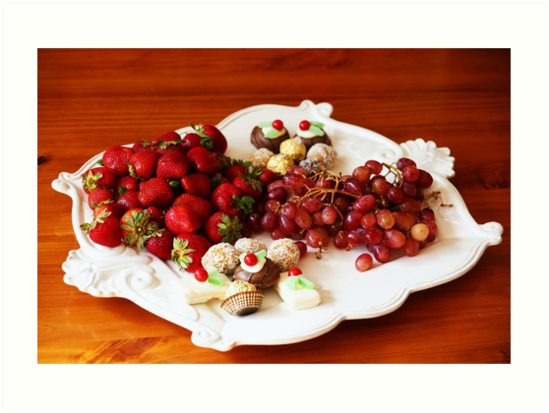 Christmas Platter by Adam Jones