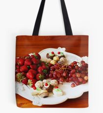 Christmas Platter Tote Bag