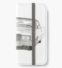 1970 Cadillac Coupe DeVille iPhone Wallet/Case/Skin