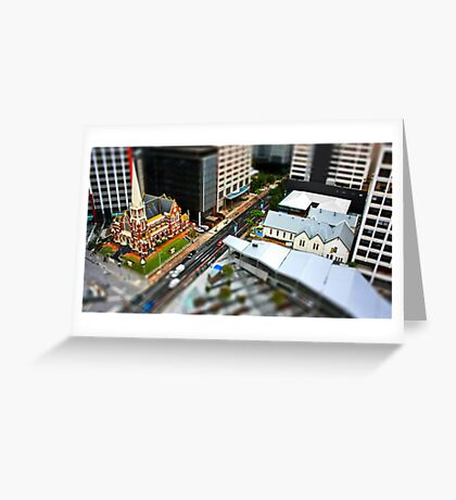 Model Citizens Greeting Card