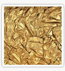 NASA gold Sticker