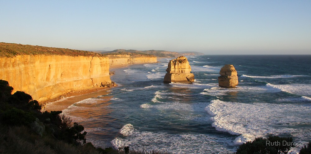 Sea Stacks - Great Ocean Road, Victoria by Ruth Durose