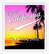Hotel California Sticker