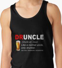 Camiseta de tirantes Cerveza Druncle
