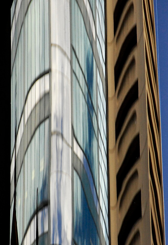 Sydney Building Reflection 49 by luvdusty