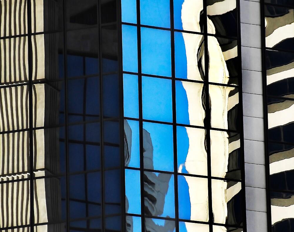 Sydney Building Reflection 50 by luvdusty