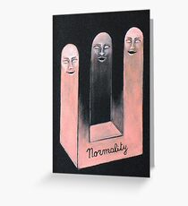 Normal persons Greeting Card
