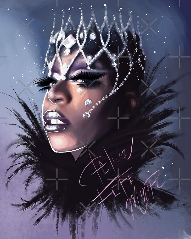 Felicia Minor Digital Art by Carlos Gzz by Felicia Minor
