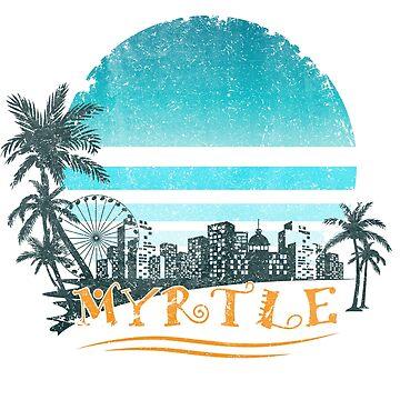Myrtle Beach Shirt Apparel by Diardo