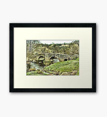 Ashton Bridge  Framed Print