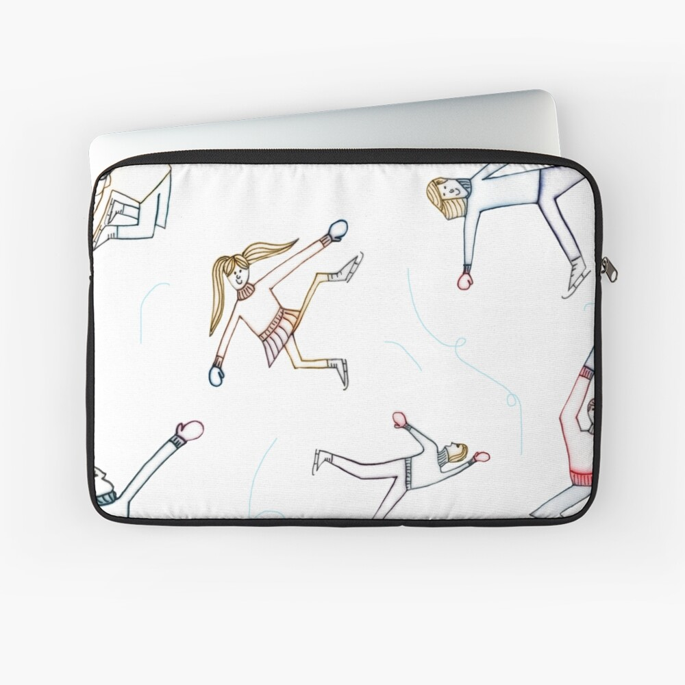 Eislaufen Laptoptasche