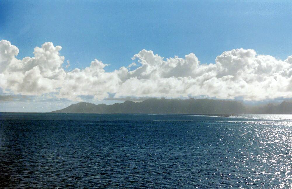 Tahiti Skyscape by rlh1973