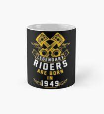 Legendary Riders Are Born In 1949 Classic Mug