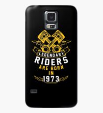 Legendary Riders Are Born In 1973 Case/Skin for Samsung Galaxy