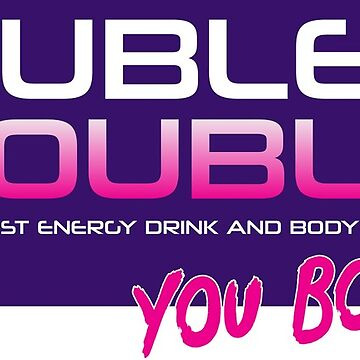 THE GOOD PLACE - DOUBLE TROUBLE: THE WORLD'S FIRST ENERGY DRINK AND BODY SPRAY by nerd-girl-art