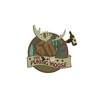 THE GOOD PLACE:  THE PUKING MOOSE by nerd-girl-art
