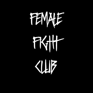 Female Fight Club by Mark5ky
