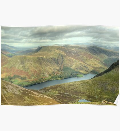 Buttermere... A Different Perspective Poster