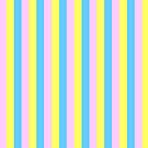 The Stripe Collection - Cotton Candy by Stephanie Rachel Seely