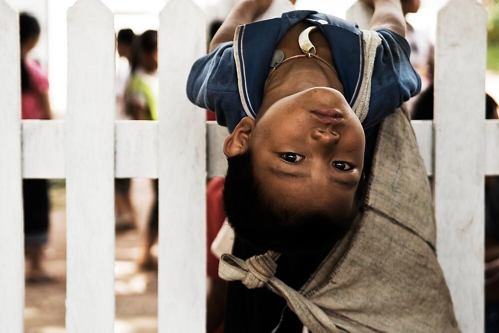Laos boy in Luang Prabang by MattCorke