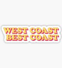 Westküste Beste Küste Sticker