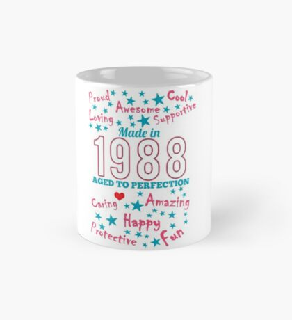 Made In 1988 - Aged To Perfection Mug