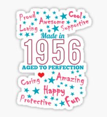 Made In 1956 - Aged To Perfection Sticker