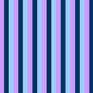 The Stripe Collection - Blue Twilight by Stephanie Rachel Seely