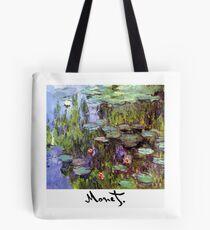 Monet - Waterlilies (Nympheas) Tote Bag
