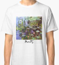 Monet - Waterlilies (Nympheas) Classic T-Shirt