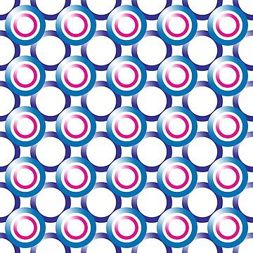 Overlapping Circles Pattern by MarkUK97