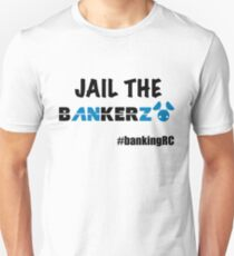 JAIL THE BANKERZ Slim Fit T-Shirt