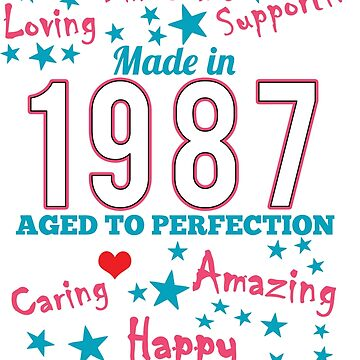 Made In 1987 - Aged To Perfection by wantneedlove