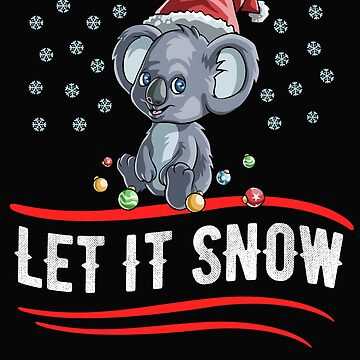 Christmas Let It Snow by Bendthetrend