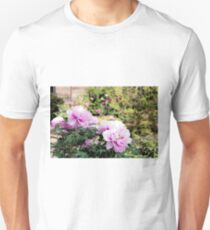Pink flowers of Peony T-Shirt
