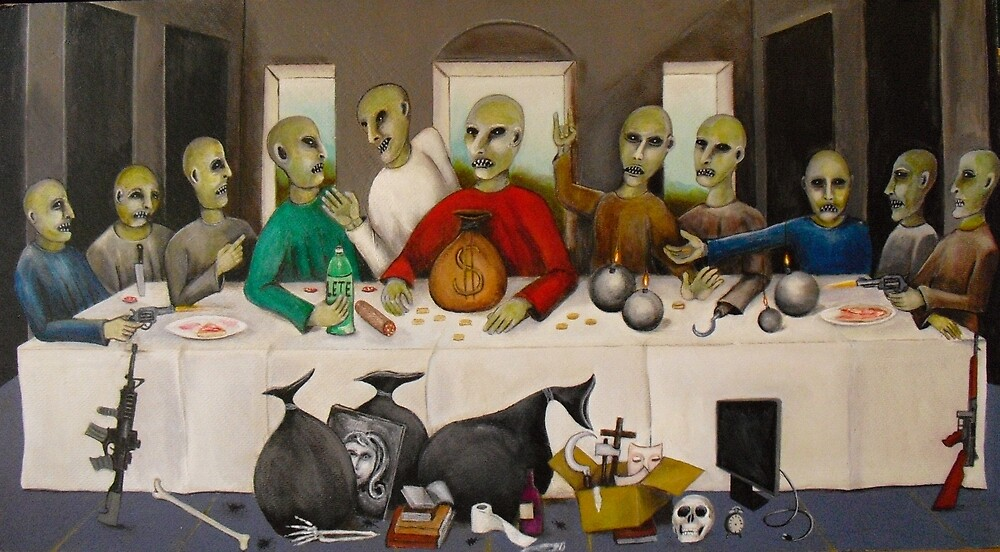 the umpteenth supper ( all friends ) by fulvio